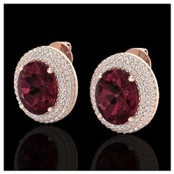 1.75 ctw SI Fancy Blue Diamond 3 Stone Ring 10K Rose Gold