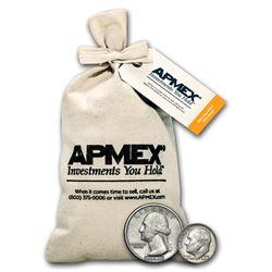 90% Silver Coins - $50 Face-Value Bag