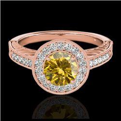 2.50 ctw Amethyst & VS/SI Diamond Necklace 18K White Gold