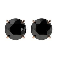0.85 ctw VS/SI Diamond Halo Necklace 14K White & Rose Gold