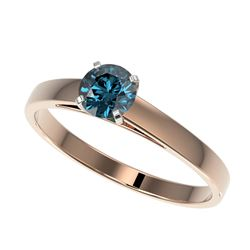 0.65 ctw VS/SI Diamond Ring 18K White Gold