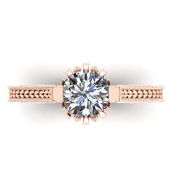 2.69 ctw Ruby & Diamond Ring 14K Yellow Gold