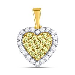 14kt White Gold Princess Diamond Cluster Bridal Wedding Engagement Ring 1/4 Cttw