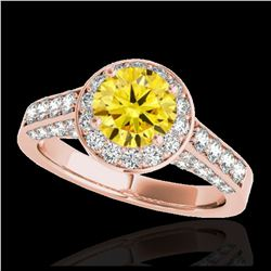38.61 ctw Emerald & Diamond Halo Bracelet 10K Rose Gold