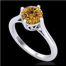 36.208 ctw Turquoise & Diamond Halo Necklace 10K White Gold