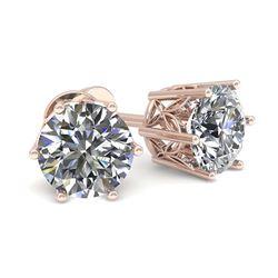 0.83 ctw Yellow Sapphire & Diamond Ring 18K White Gold