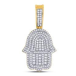 14kt White Gold Round Diamond Wrap Ring Guard Enhancer 1.00 Cttw
