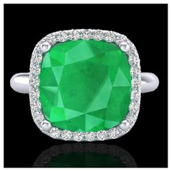 1.29 ctw Intense Yellow Diamond Solitaire Ring 10K Rose Gold