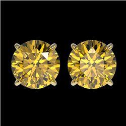 43.2 ctw Swiss Topaz & Diamond Halo Necklace 10K Rose Gold