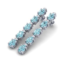 0.75 ctw VS/SI Diamond Earrings 14K Yellow Gold