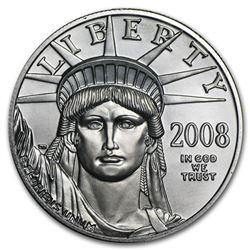 2008 1 oz Platinum American Eagle BU