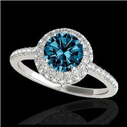 2.50 ctw H-SI/I Diamond Necklace 10K White Gold