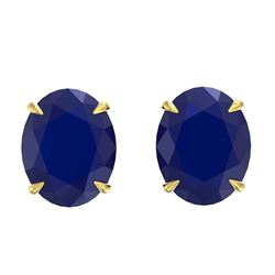 5.50 ctw Morganite Stud Earrings 18K White Gold