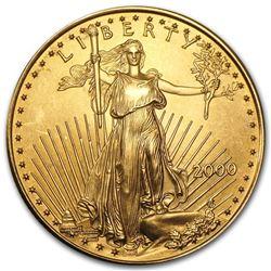 2000 1/2 oz Gold American Eagle BU