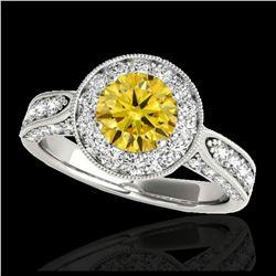 2.25 ctw Tourmaline & Diamond Necklace 14K Rose Gold
