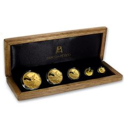 2017 Mexico 5-Coin Gold Libertad Proof Set (1.9 oz\, w/ Box & COA)