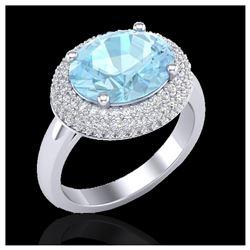 1.53 ctw Fancy Black Diamond Art Deco Ring 18K Rose Gold