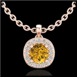 13.19 ctw Turquoise & Diamond Halo Bracelet 10K Yellow Gold