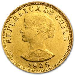 Chile Gold 50 Pesos AU/BU (Random)