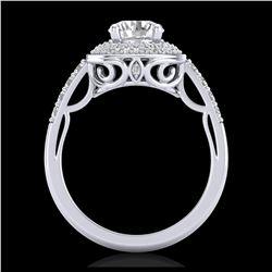 45.25 ctw Citrine & VS/SI Diamond Necklace 14K Rose Gold