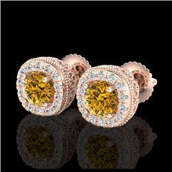 21.86 ctw Aquamarine & Diamond Bracelet 14K Rose Gold