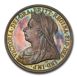 1893 Great Britain Silver Florin Veil Head Victoria PR-66 PCGS