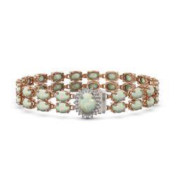 12.82 ctw Sky Topaz & Diamond Earrings 14K White Gold
