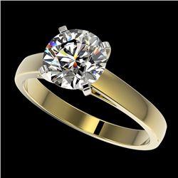 6 ctw Sapphire & VS/SI Diamond Earrings 18K Yellow Gold