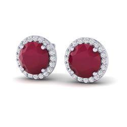 0.70 ctw Citrine & VS/SI Diamond Ring 14K Rose Gold
