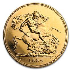 Great Britain Gold £5 BU/Proof