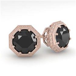 0.25 ctw VS/SI Diamond & Golden Pearl Ring 18K Yellow Gold