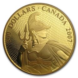 2007 Canada Proof Gold $300 Shinplaster
