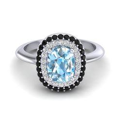 3 ctw Ruby & VS/SI Diamond Necklace 18K Yellow Gold