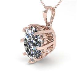 2.15 ctw Emerald & Diamond Ring 14K White Gold