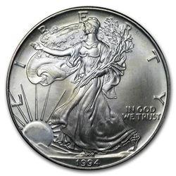 1994 1 oz Silver American Eagle (Abrasions)