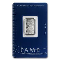 5 gram Platinum Bar - PAMP Suisse (In Assay)