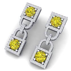 27.1 ctw London Topaz & Diamond Bracelet 14K Rose Gold