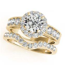 33.25 ctw Sky Topaz & Diamond Halo Necklace 10K Rose Gold