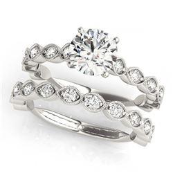 2.69 ctw Ruby & Diamond Ring 14K White Gold