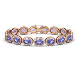 3.0 ctw Cushion Black Diamond Ring 14K Rose Gold