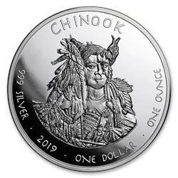 2019 1 oz Silver State Dollars Washington Marmot