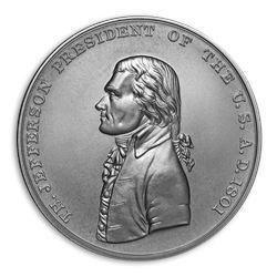U.S. Mint Silver Thomas Jefferson Presidential Medal