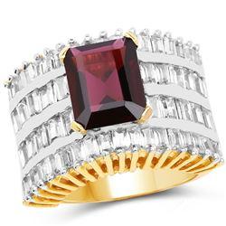 1.0 ctw VS/SI Diamond Heart Necklace 14K Rose Gold