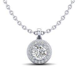 10.81 ctw Blue Sapphire & Diamond Bracelet 18K White Gold