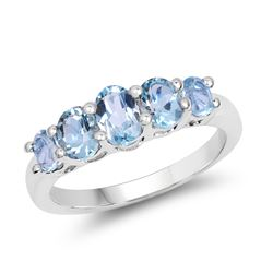 0.28 ctw Genuine Black Diamond .925 Sterling Silver Ring
