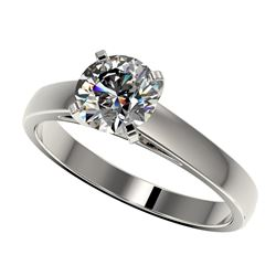 2.0 ctw VS/SI Cushion Diamond 3 Stone Ring 18K Yellow Gold