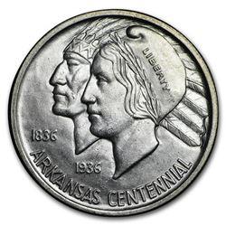 1936 Arkansas Centennial Half Dollar Commem BU