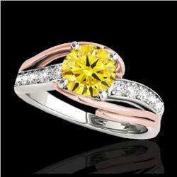12 ctw Amethyst & VS/SI Diamond Eternity Bracelet 10K White Gold
