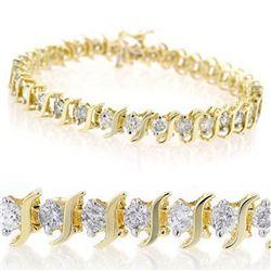 15.75 ctw Kunzite & Diamond Ring 14K Yellow Gold