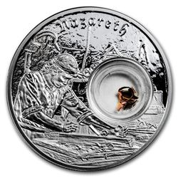 2019 Niue 1 oz Silver $2 In the Footsteps of Jesus Nazareth